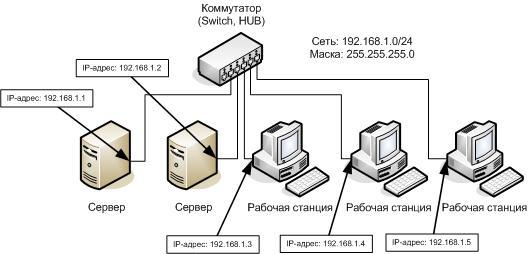 IP-сетей и поддерживают